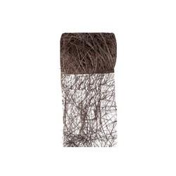 RUBAN ABACA chocolat