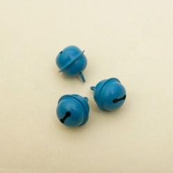 SACHET DE 10 GRELOTS DE COULEUR turquoise