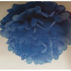 3 FLEURS 20CM turquoise